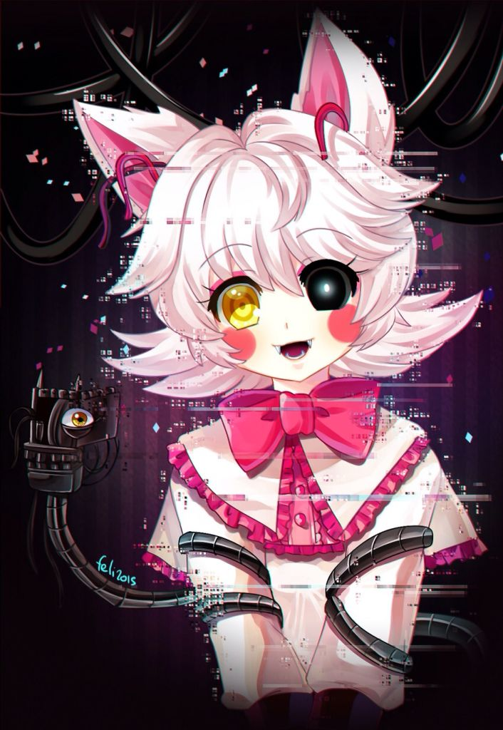 Five nights in anime characters