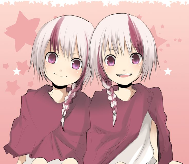 with twins Anime