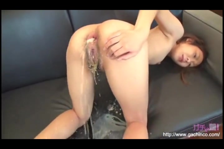 messy Curly sexy asian