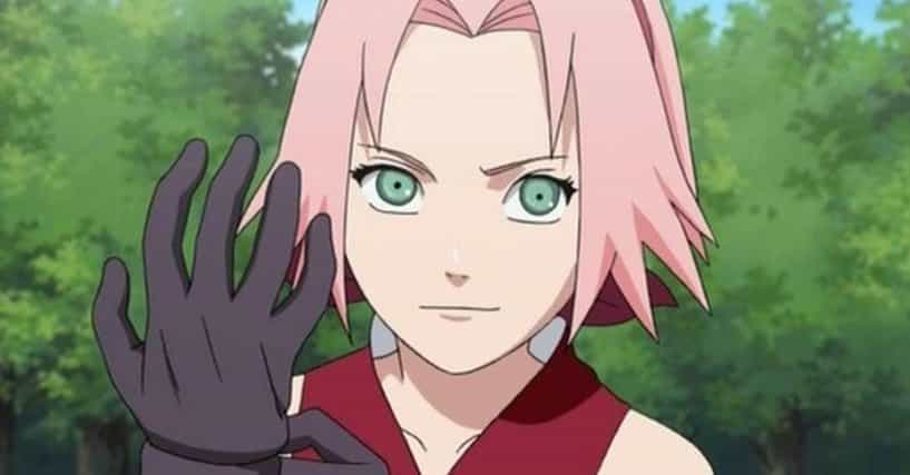 Male anime characters with pink hair