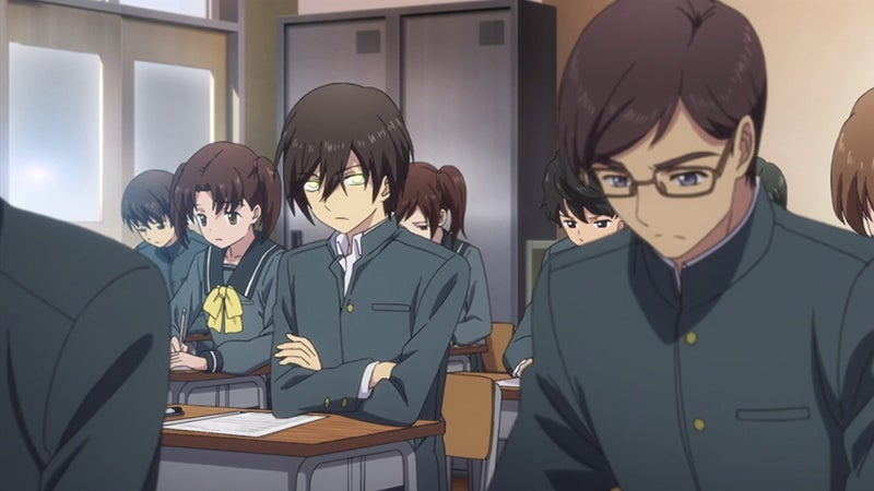 school superpowers Anime with and