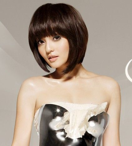 chinese style Asian hair