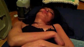 otngagged asian shaved Housewife